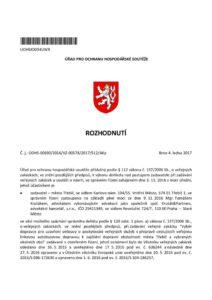 thumbnail of Rozhodnutí č.j. ÚOHS-0690-2016-VZ-00578-2017-512-AKp
