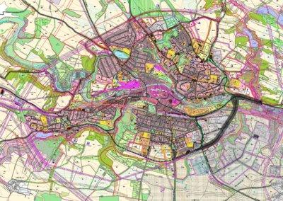 V územním plánu chce město jasné trasy obchvatu