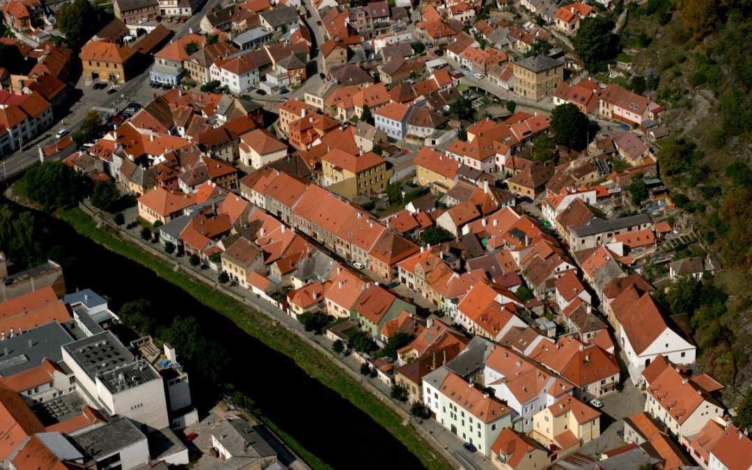 Třebíčská architektura: 2. Židovská čtvrť