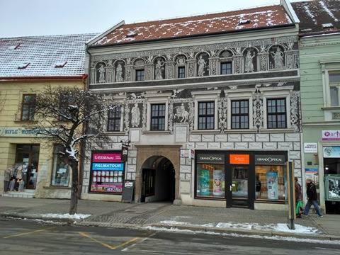 Třebíčská architektura 9: Černý dům