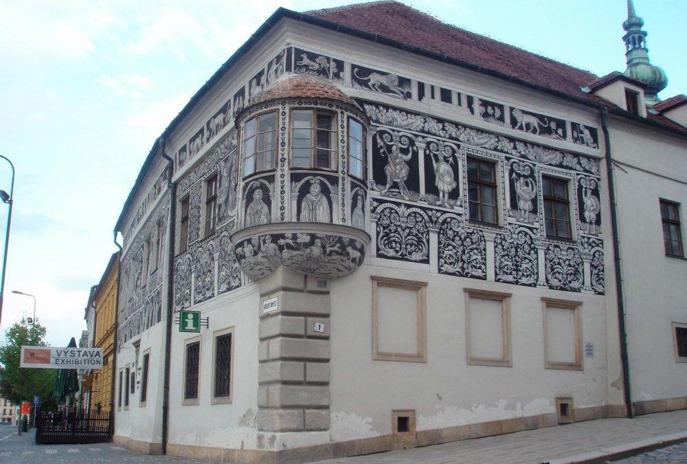 Třebíčská architektura 3: Malovaný dům